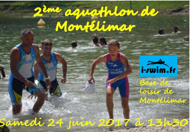 Aquathlon montelimar triathlon