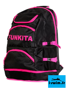 Elite squad backpack sac de piscine funkita pink shadow