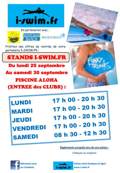 Image affiche stands rentree club