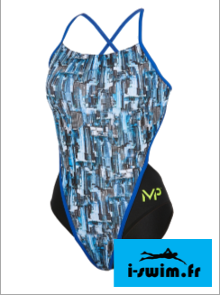 Maillot de bain femme mp michael phelps city open back