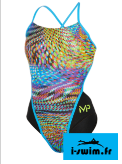 Maillot de bain femme mp michael phelps snake open back