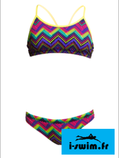 Maillot de bain funkita filles deux pieces knitty gritty