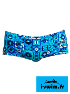 Maillot de bain natation funky trunks classic trunk strike it lucky