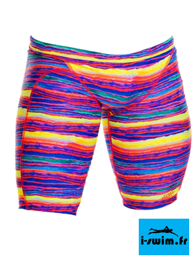 Maillot de bain natation homme funky trunks jammer crystal wave