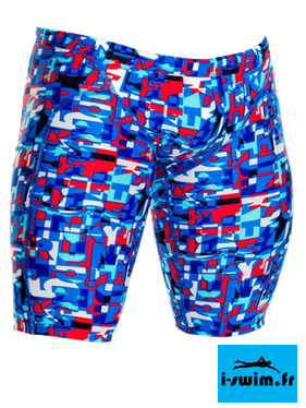 Maillot de bain natation homme funky trunks jammer trunk team