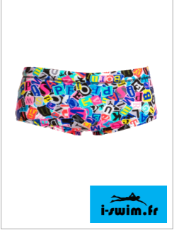 Maillot de bain natation junior funky trunks printed trunk handsome ransom