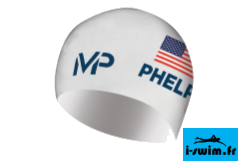 Mp michael phelps race cap limited edition bonnet silicone