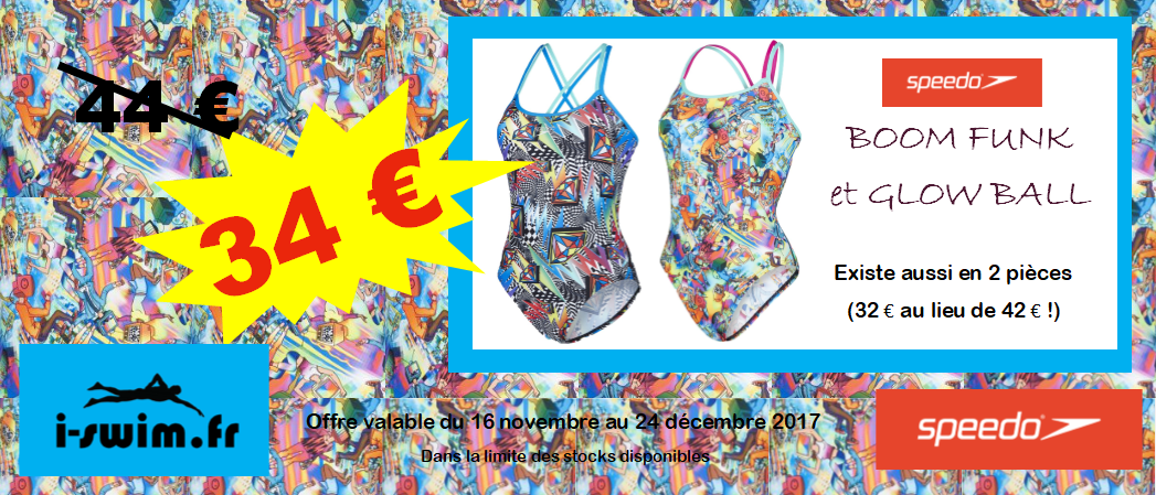 Promo maillots de bain speedo collection automne hiver 2017