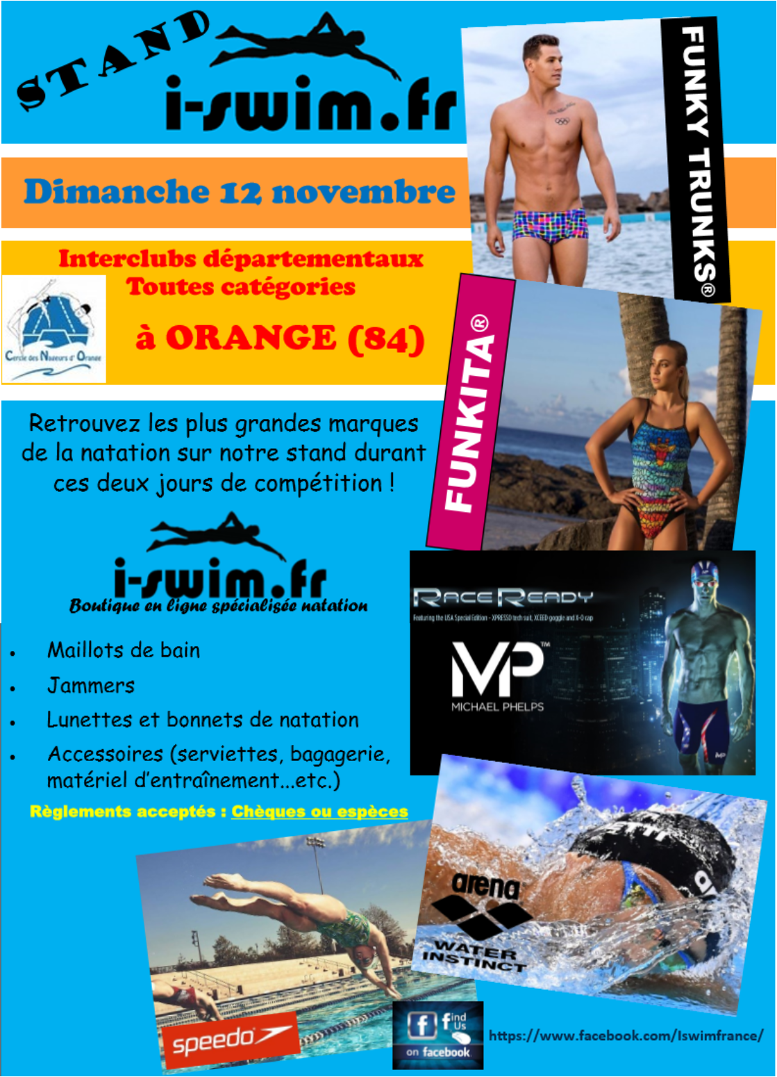 Stand i swim fr interclubs natation orange vaucluse