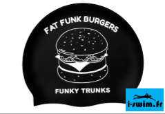 Bonnet de natation silicone funky trunks fat funk