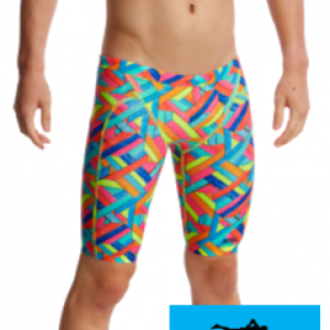 Jammer de natation funky trunks garcon panel pop