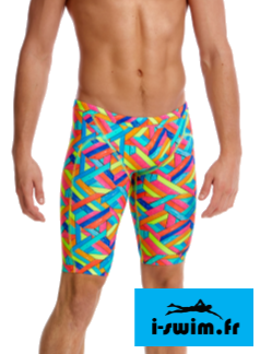 Jammer de natation funky trunks homme panel pop
