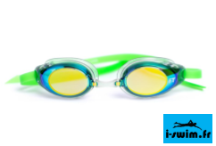 Lunettes de natation funky trunks green dragon mirror1