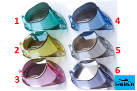 Lunettes suedoises de natation malmsten swedish goggles jewel collection