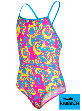 Maillot de bain enfant fillette speedo essential frill