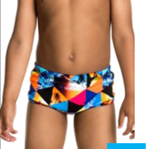 Maillot de bain enfant funky trunks summer snaps