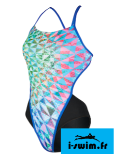 Maillot de bain femme mp michael phelps chrystal open back