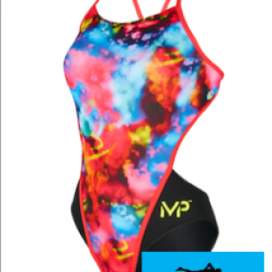 Maillot de bain femme mp michael phelps foggy open back