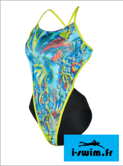 Maillot de bain femme mp michael phelps oasis open back