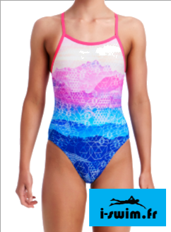 Maillot de bain fille une piece funkita mount up