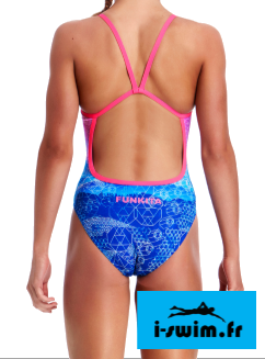 Maillot de bain fille une piece funkita mount up1