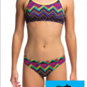 Maillot de bain funkita filles deux pieces knitty gritty1