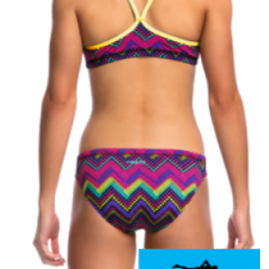 Maillot de bain funkita filles deux pieces knitty gritty2