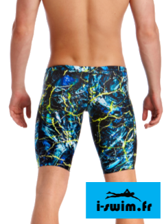 Maillot de bain homme jammer funky trunks midnight marble2