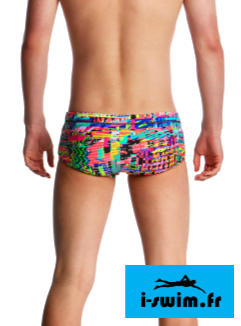 Maillot de bain junior printed trunk funky trunks full metal funky2