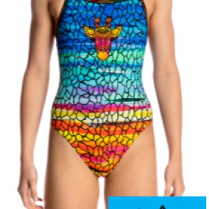 Maillot de bain natation funkita junior scorching hot1