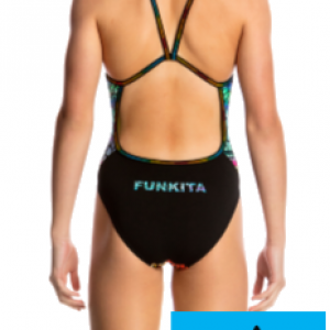 Maillot de bain natation funkita junior scorching hot2