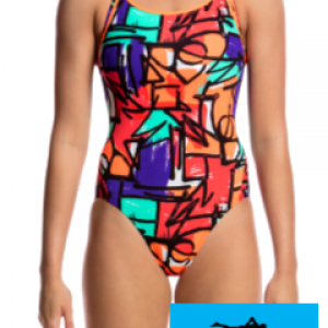 Maillot de bain natation funkita junior street beat