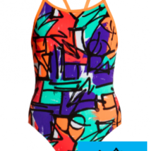 Maillot de bain natation funkita junior street beat1
