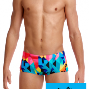 Maillot de bain natation funky trunks homme colour burst1