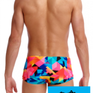 Maillot de bain natation funky trunks homme colour burst2