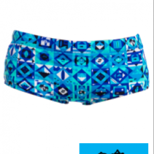 Maillot de bain natation funky trunks printed strike it lucky