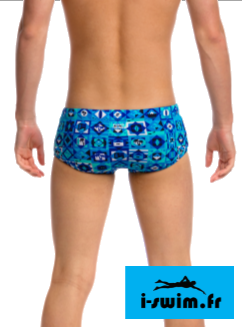 Maillot de bain natation funky trunks printed strike it lucky2