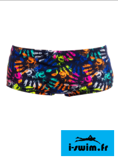 Maillot de bain natation funky trunks printed trunk hands off