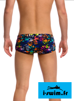 Maillot de bain natation funky trunks printed trunk hands off2