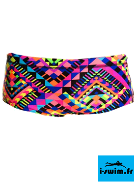 Maillot de bain natation garcon funky trunks printed trunk diamond devil