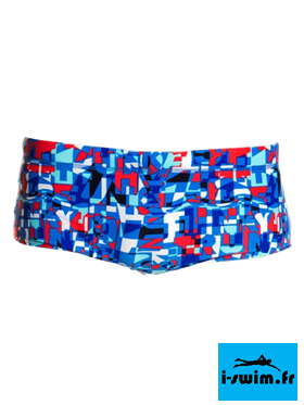 Maillot de bain natation garcon funky trunks printed trunk trunk team