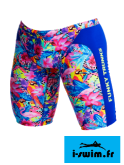 Maillot de bain natation jammer homme et junior funky trunks club tropo