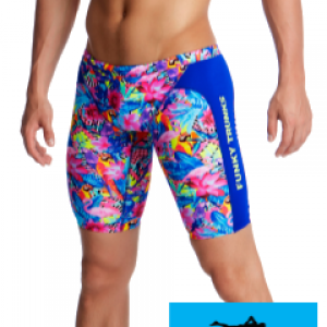 Maillot de bain natation jammer homme et junior funky trunks club tropo1