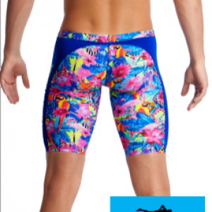 Maillot de bain natation jammer homme et junior funky trunks club tropo2