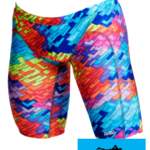 Maillot de bain natation jammer homme et junior funky trunks layer cake