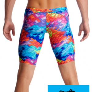 Maillot de bain natation jammer homme et junior funky trunks layer cake2