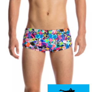 Maillot de bain natation junior funky trunks printed trunk handsome ransom1