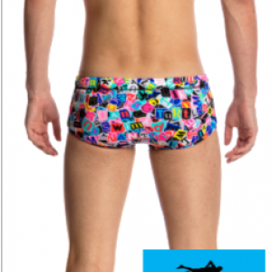 Maillot de bain natation junior funky trunks printed trunk handsome ransom2