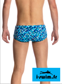 Maillot de bain natation junior funky trunks printed trunk ice attack2
