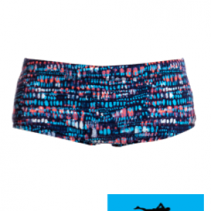 Maillot de bain natation junior funky trunks printed trunk lotsa dots
